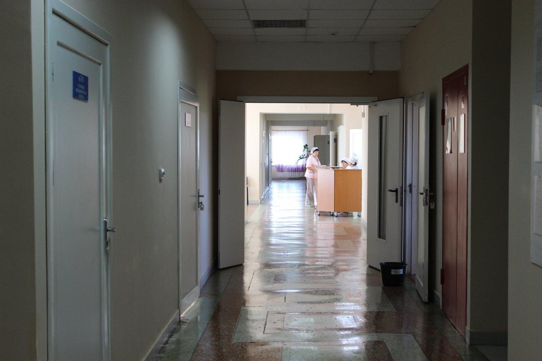 коридор отделения