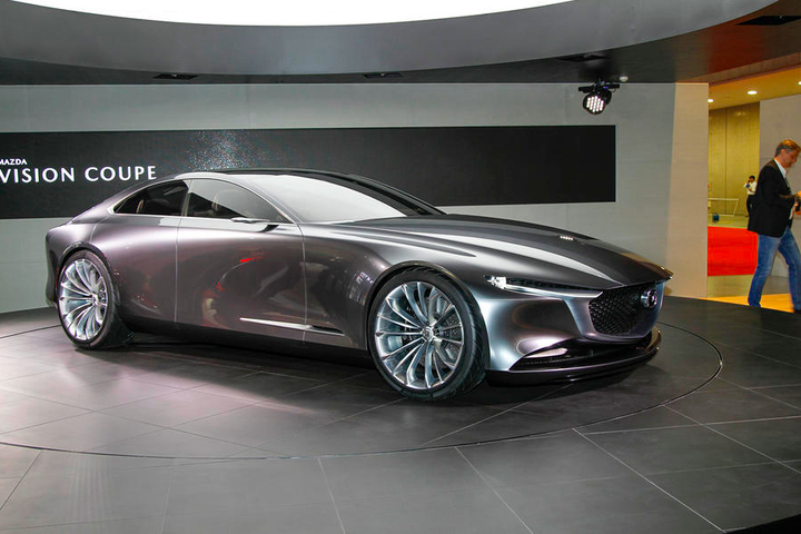 Concept Vision Coupe от Mazda / © Autocar.co.uk