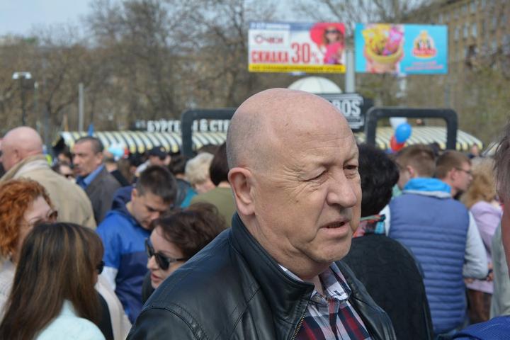 Зампред областного правительства Александр Буренин