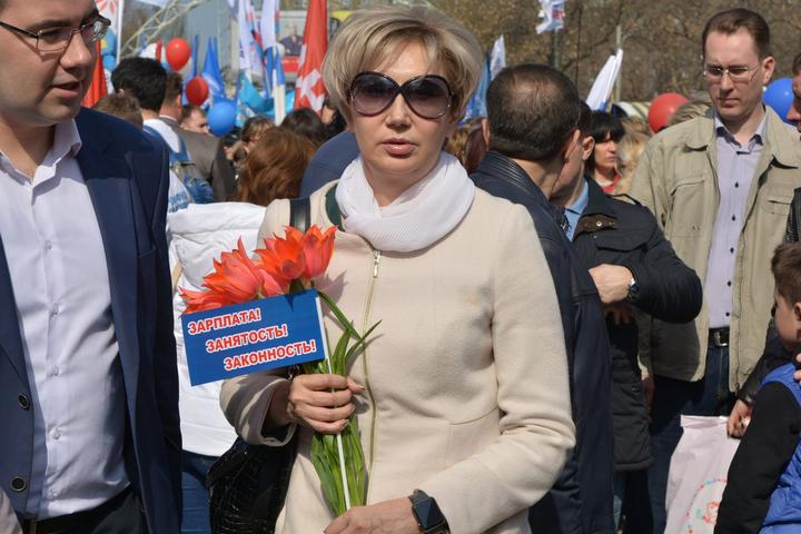 Министр внутренней политики Елена Щербакова