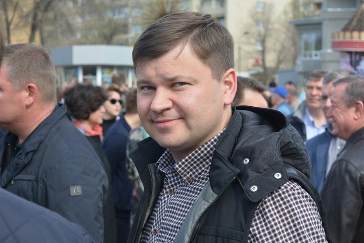 Министр строительства и ЖКХ области Дмитрий Тепин