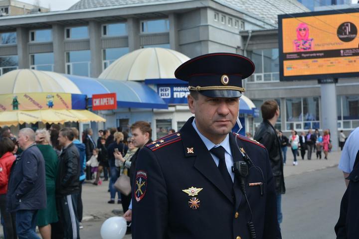 Глава УМВД по городу Саратову Андрей Чепурной