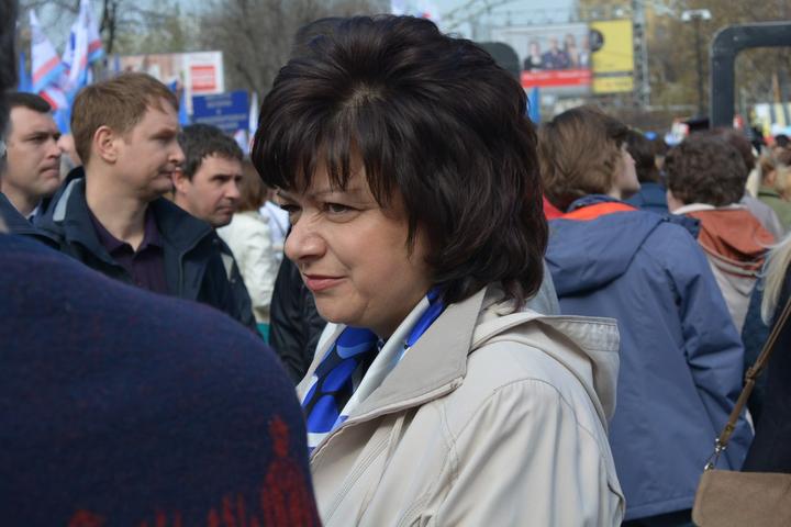 Главный федеральный инспектор в Саратовской области Марина Алешина
