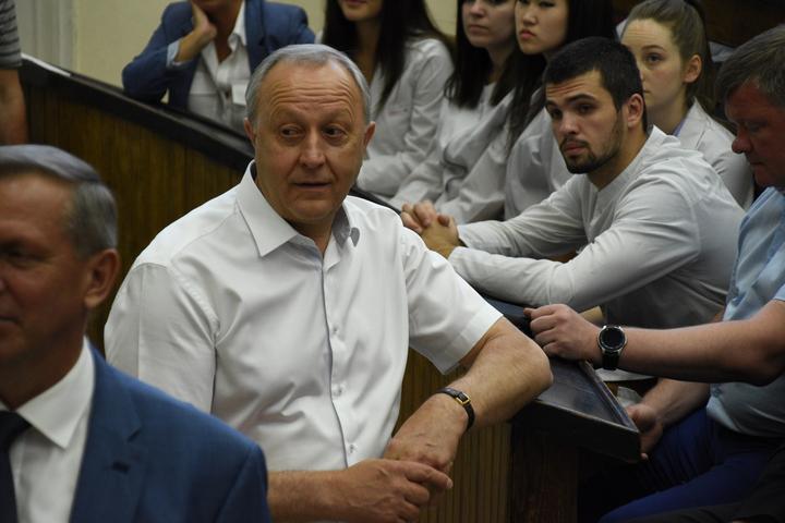 Губернатор Валерий Радаев