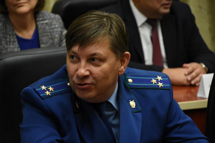 Начальник Саратовской транспортной прокуратуры Ростов Виктор Викторович