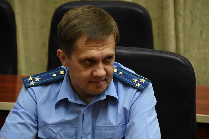 Саратовский транспортный прокурор Южной транспортной прокуратуры Березовский Андрей Викторович