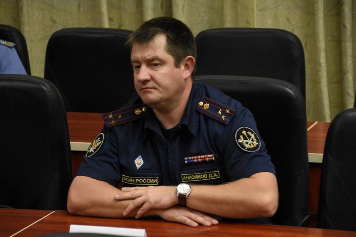 Заместитель начальника УФСИН России по Саратовской области Анисимов Денис Александрович