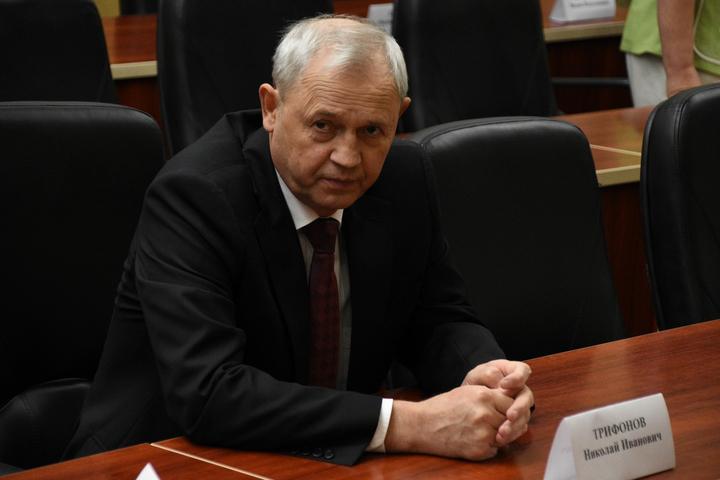 Начальник ГУ МВД по Саратовской области Трифонов Николай Иванович