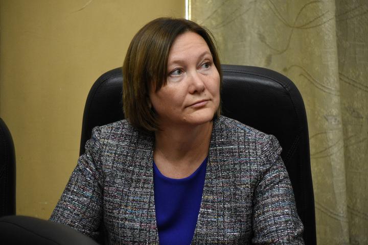 Руководитель Межрегионального управления № 156 ФМБА России Кушнерик Марина Алексеевна