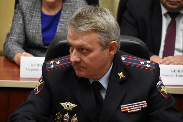 Начальник Приволжского ЛУ МВД России на транспорте Алексеев Геннадий Егорович.