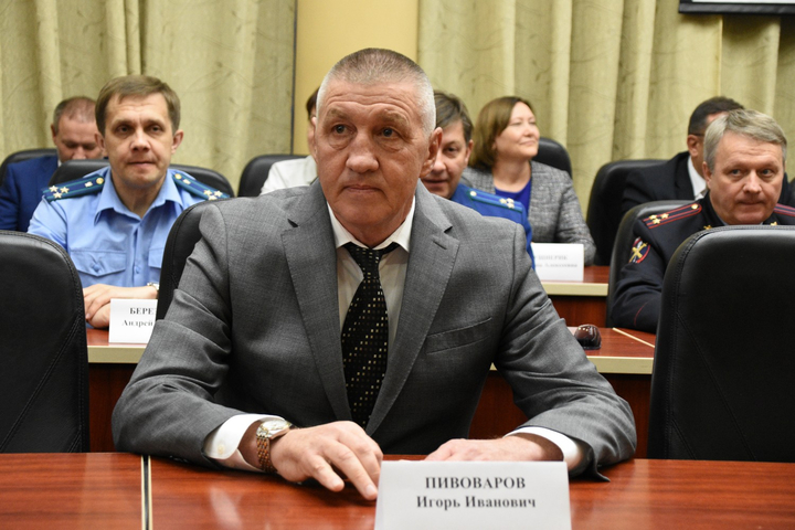 Вице-губернатор Саратовской области Пивоваров Игорь Иванович