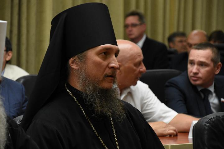 Еписком Покровский и Николаевский Пахомий