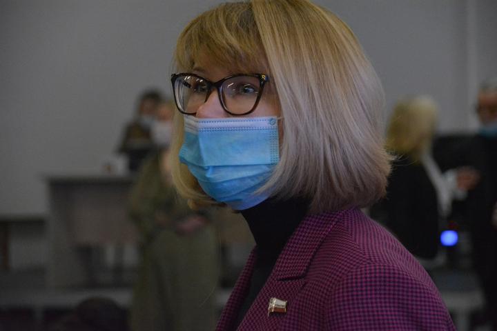 Министр внутренней политики и общественных отношений Саратовской области Наталья Трошина