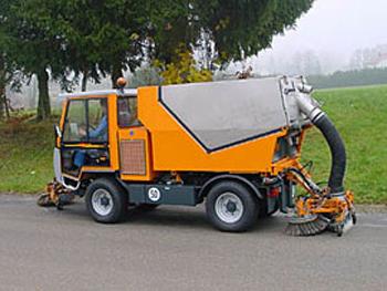 Машины закупленные для уборки пыли не прошли контрольные  Машины закупленные для уборки пыли не прошли контрольные испытания в Саратове