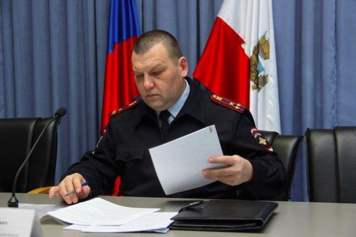 Пост главы областной ГИБДД временно занял Павел Свиридов