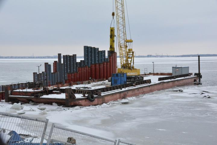 Приостановление строительства пляжа. Подрядчик выполнил работы на 133 миллиона из 700