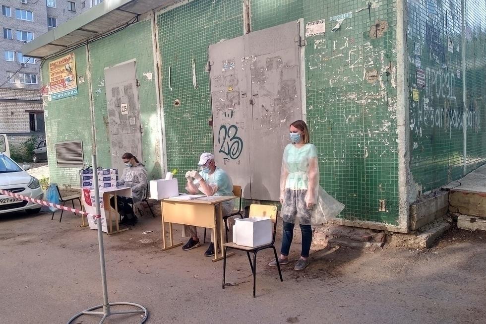 Голоса в конопле: показываем, как проходило «конституционное» голосование на улицах Саратова