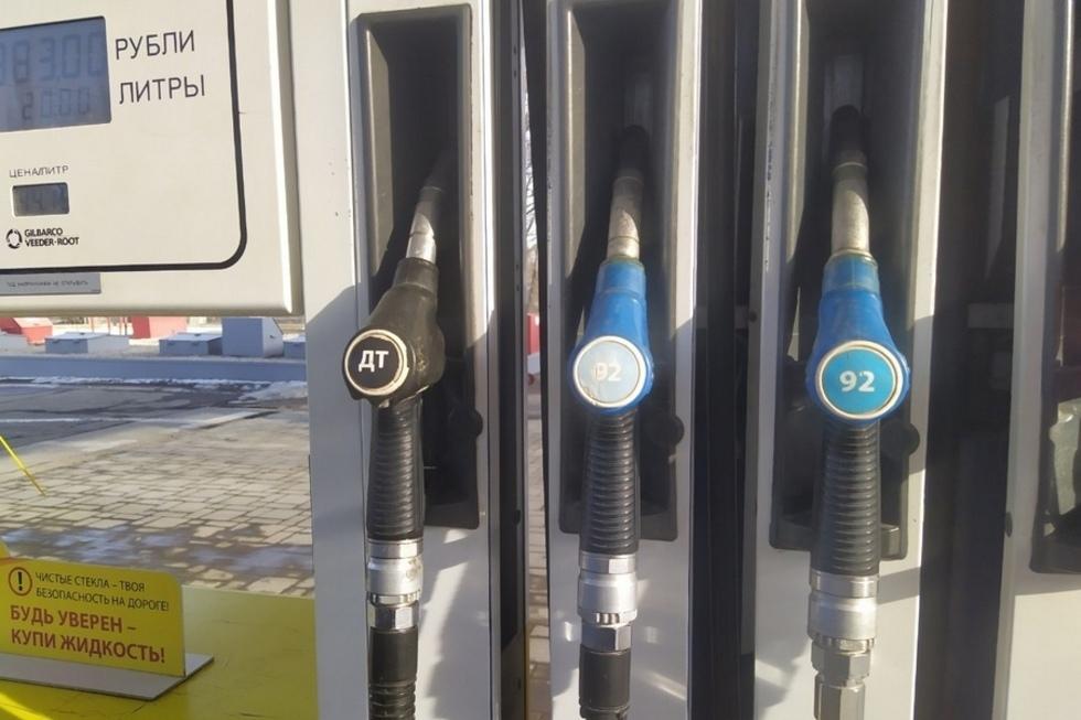 С начала года литр бензина в Саратове подорожал на 2 рубля