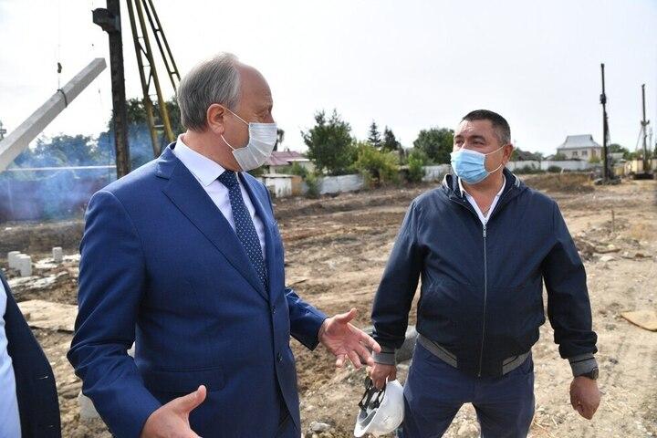 Нацпроекты. Губернатора шокировали провальные темпы строительства детских садов в Заводском районе
